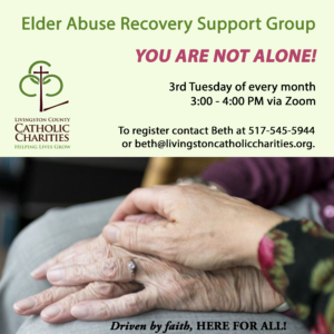 Elder Abuse Recovery Support Group